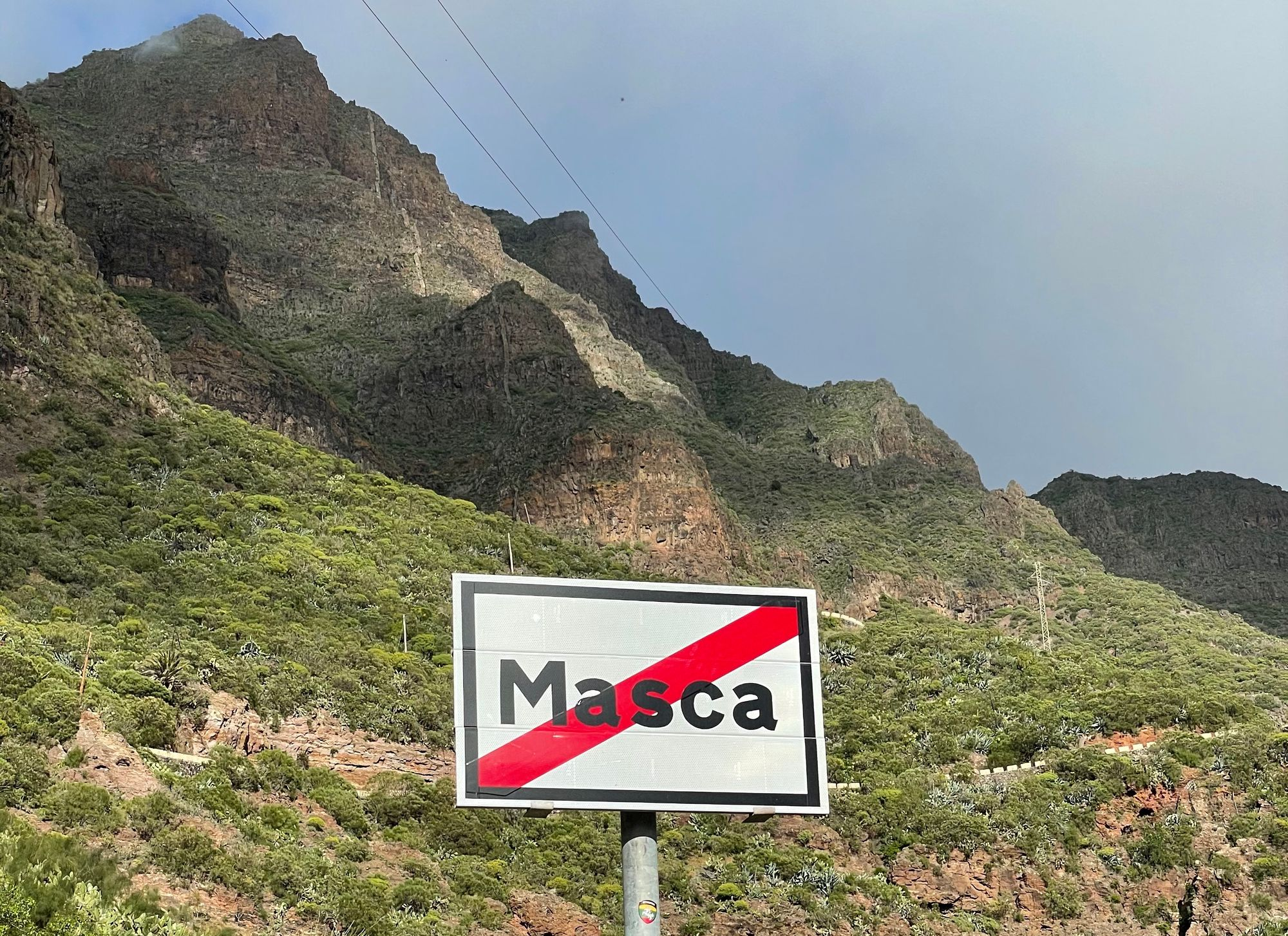 Masca Trail is closed